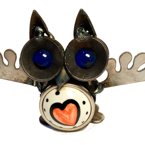 Owl with Heart in Belly
