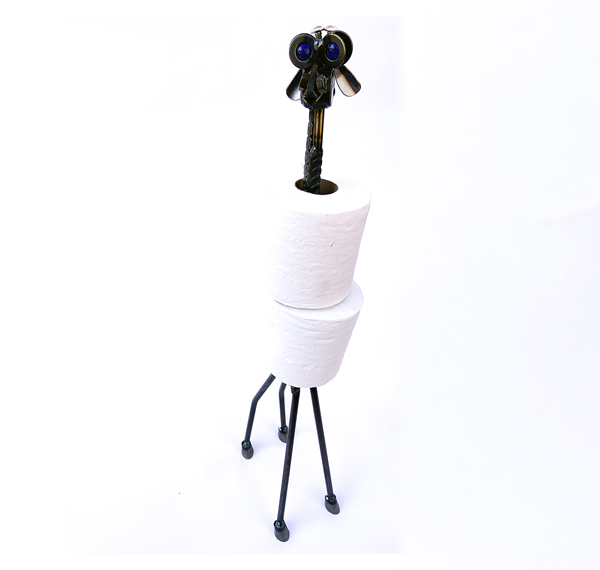 Too Tall Two Ply Giraffe Toilet Paper Holder